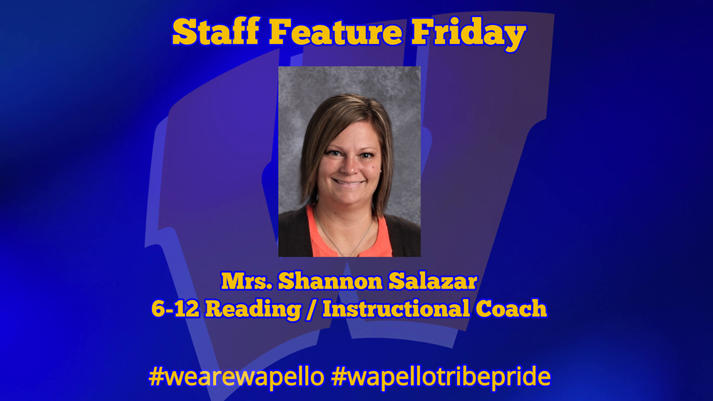 Staff Feature Friday - Shannon Salazar