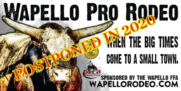 Wapello FFA Postpones  2020 PRCA Rodeo