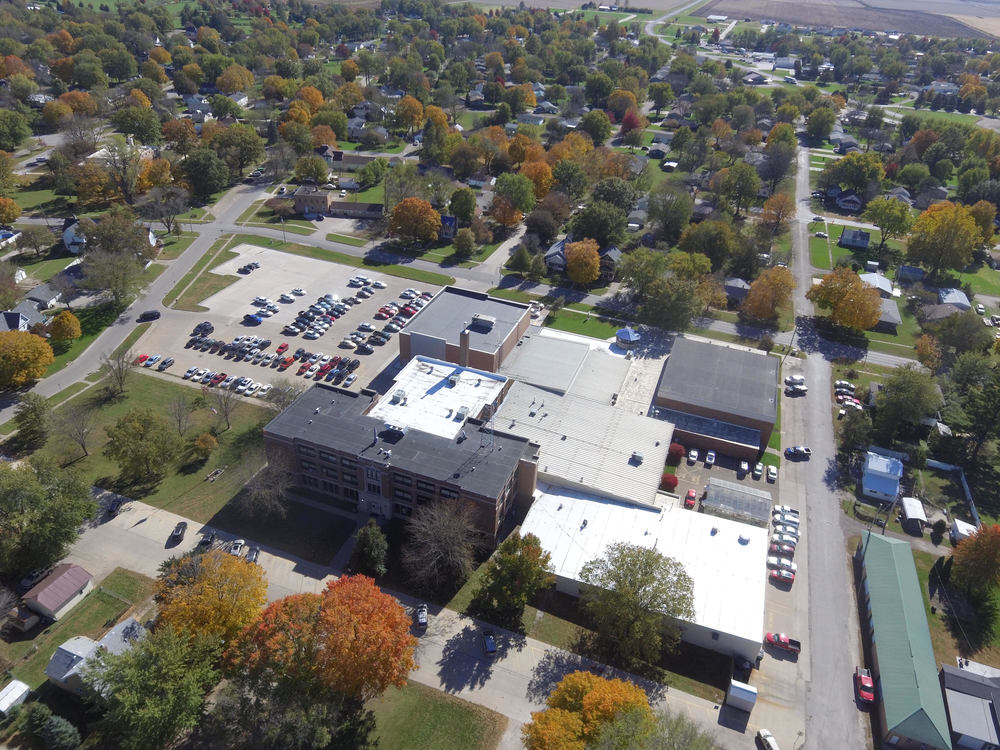 Wapello High School To Complete Re-Roofing Project