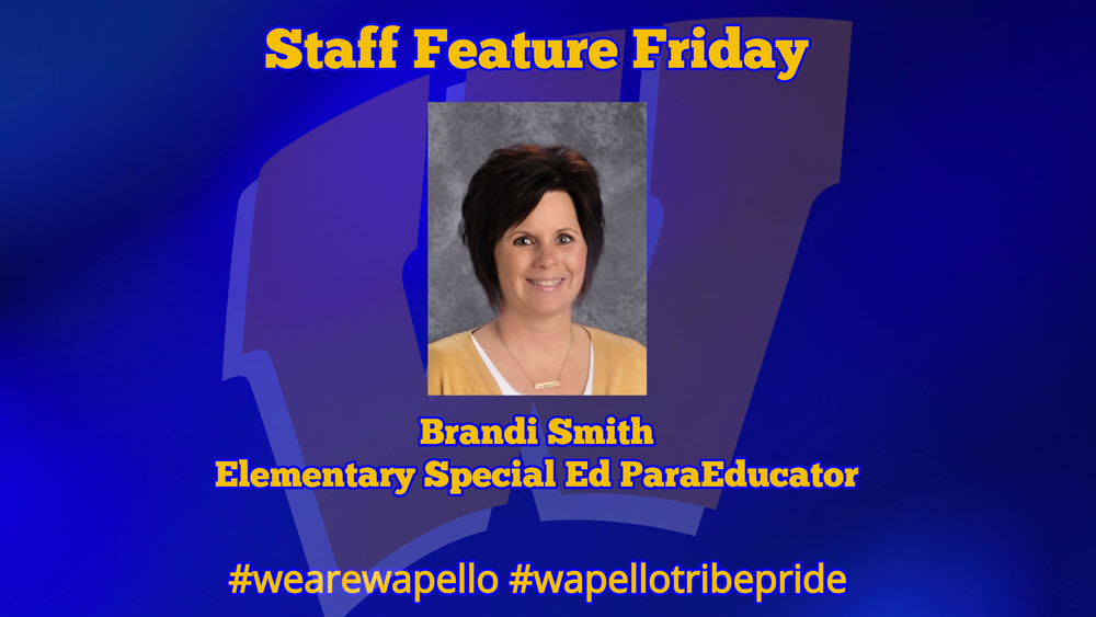 Staff Feature Friday - Brandi Smith