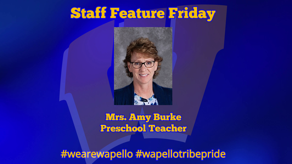 Staff Feature Friday - Amy Burke, Preschool Teacher