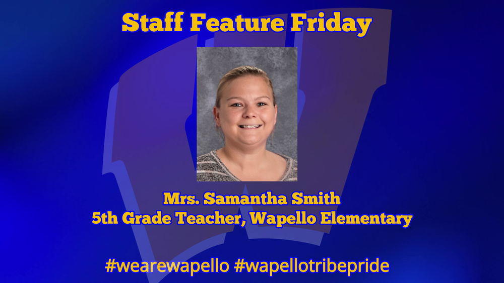 Staff Feature Friday - Samantha Smith