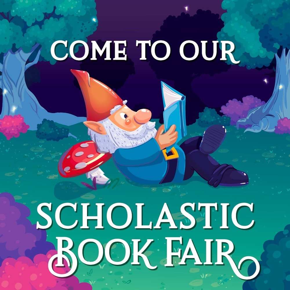 Scholastic Book Fair is THIS WEEK!