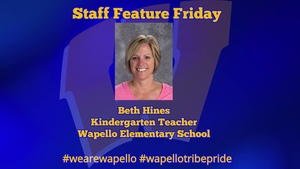 Staff Feature Friday - Beth Hines, Kindergarten Teacher