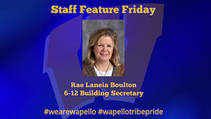 Staff Feature Friday - Rae Laneia Boulton