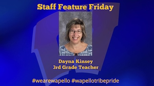 Friday Staff Spotlight - Dayna Kinsey