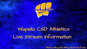 Wapello Indians vs Hillcrest Academy Tonight to be Live Streamed