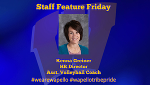 Staff Feature Friday - Kenna Greiner, HR Director