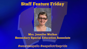 Staff Feature Friday -  Jennifer Walker