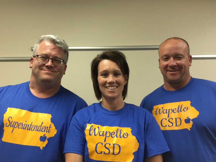 Wapello Community School District Central Office Staff