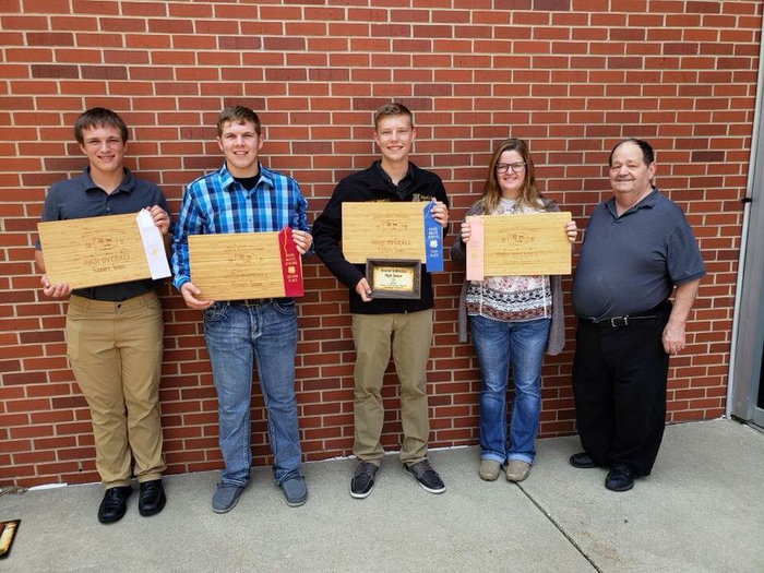 Wapello 4H Meats Team