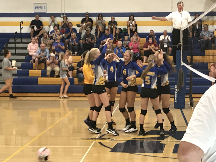 Wapello Arrows Volleyball