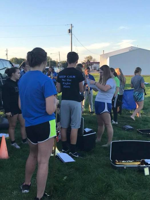 Wapello Marching Band