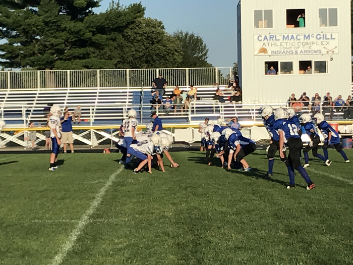 Wapello Junior High Football