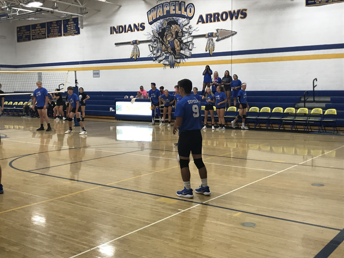 2018 Power Puff Volleyball