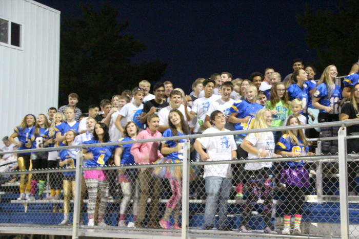 Spirit Night Student Section