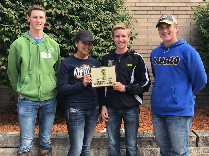 1st place at soils!
