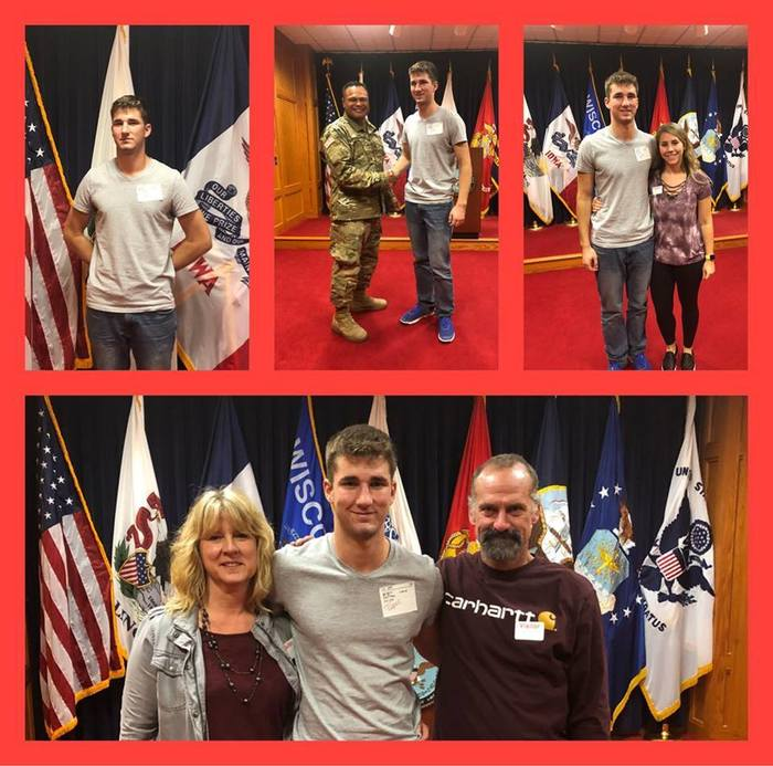 Jace Kauffman Military Enlistment