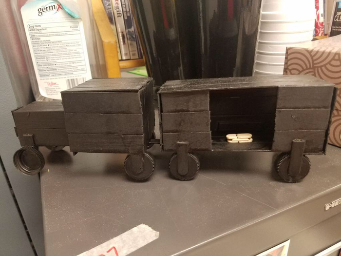 A Concentration Camp Train by Keaton McConahay