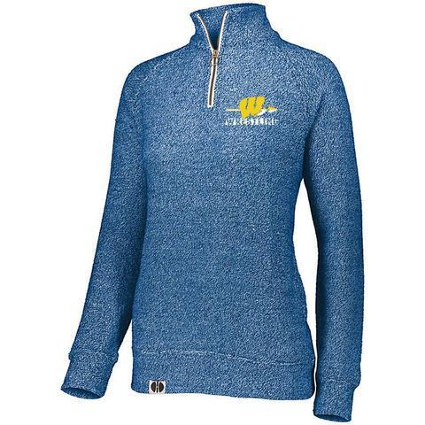 Wapello Wrestling Ladies 1/4 zip Pullover