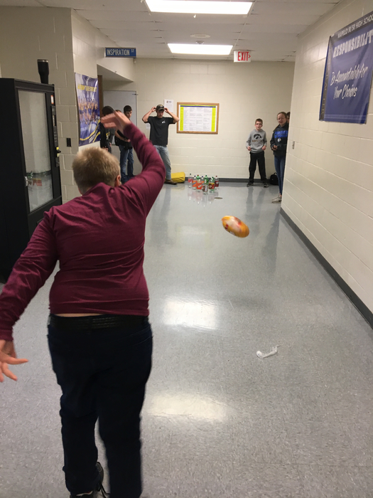 Tossing turkeys down the hall