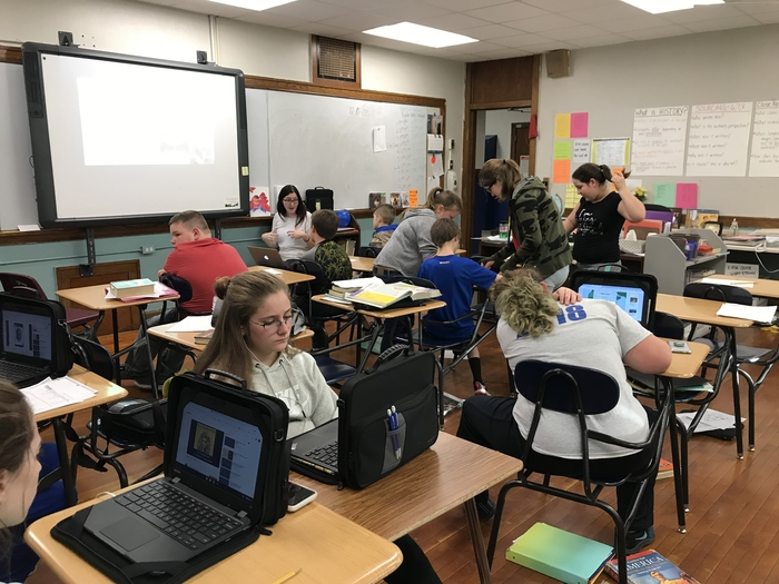 Blended Learning in 6th grade social studies
