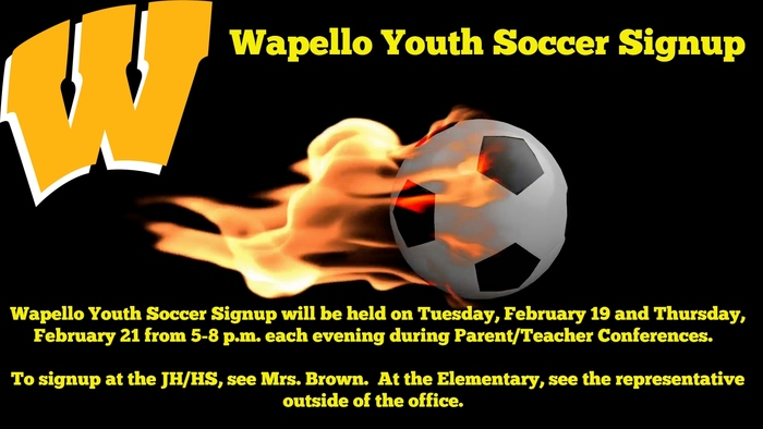 Youth Soccer Signup