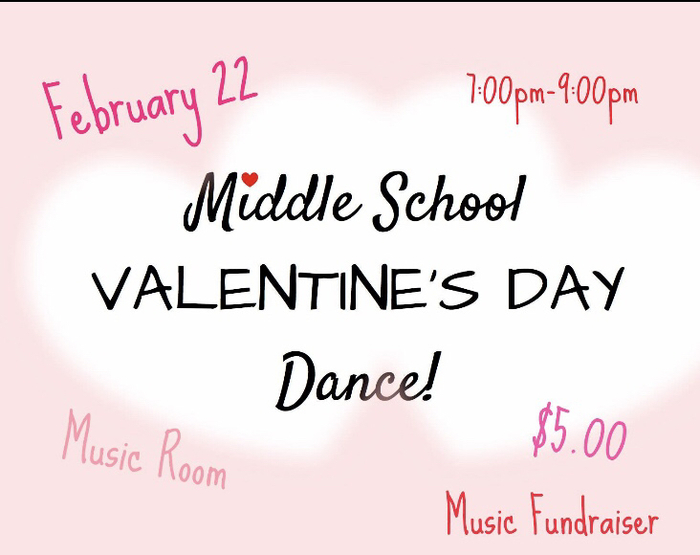 This is a fundraiser for the music department. Thanks for your support!