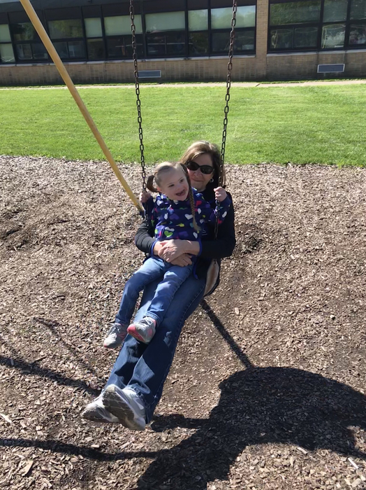 Swinging with Mrs. Shafer