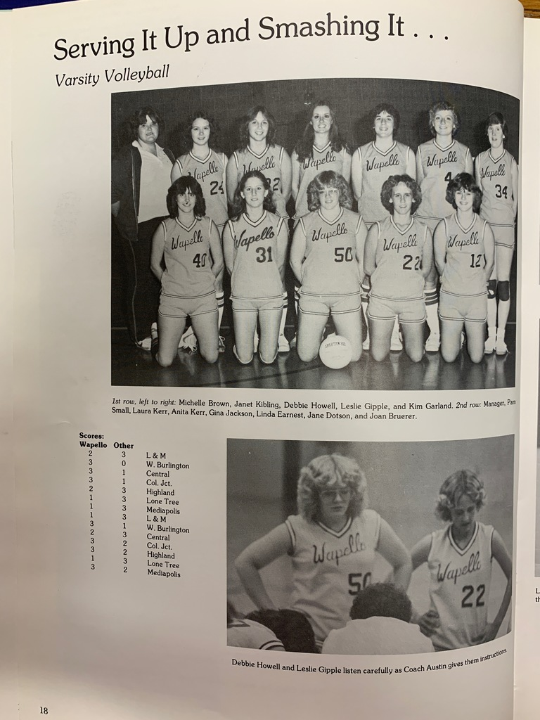 1982 WHS Yearbook