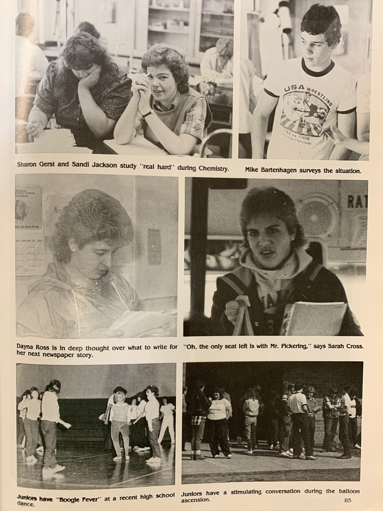 1985 WHS Yearbook