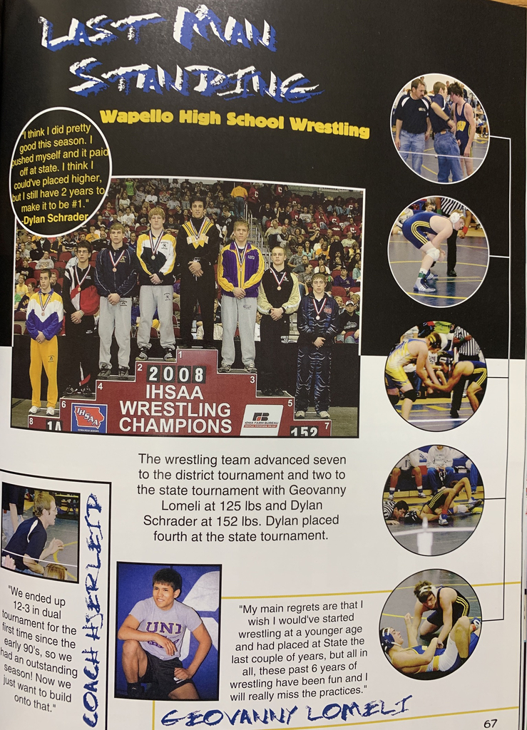 2008 WHS Yearbook