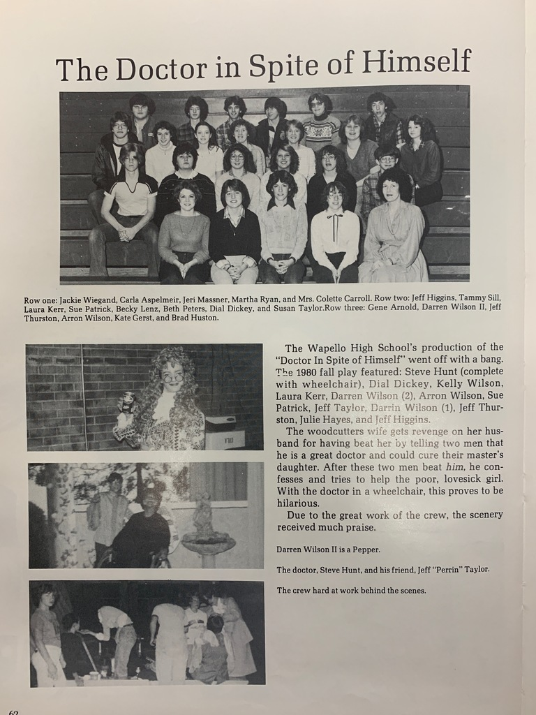 1981 WHS Yearbook
