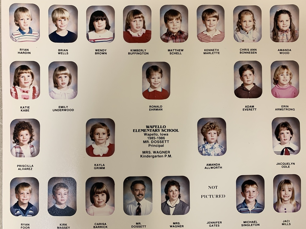 85-86 and 86-87 Wapello Elementary
