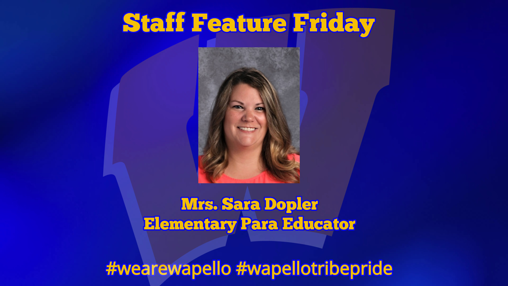 Staff Feature - Sara Dopler