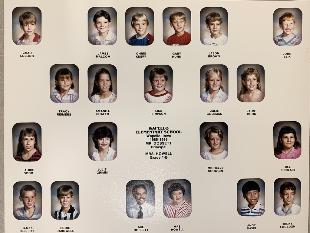 1985-86 Wapello Elem Composites