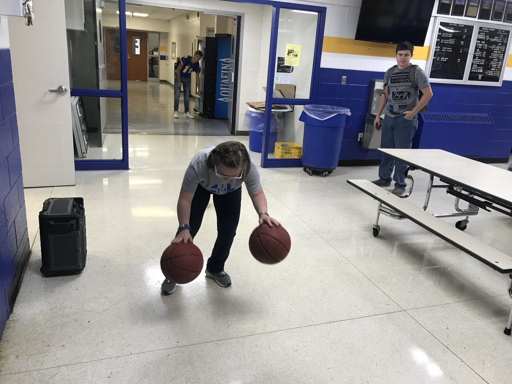 Awesome ball handling skills