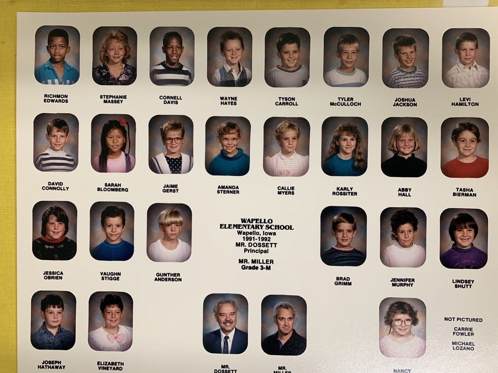 1991-92 Wapello Elem