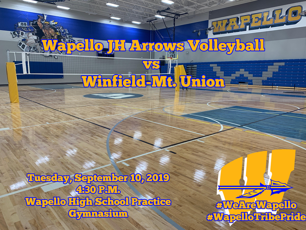 JH Volleyball 9-10-19