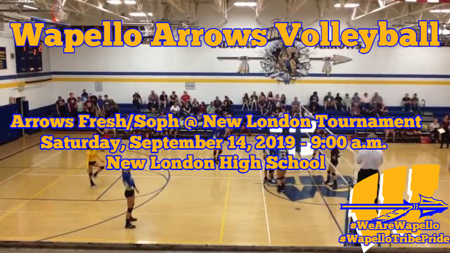 Arrows Volleyball 9-14-19