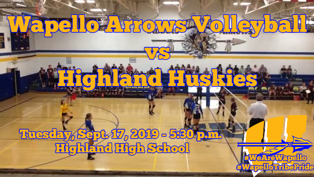 Arrows Volleyball 9-17-19