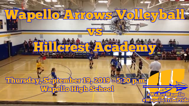 Arrows Volleyball 9-19-19