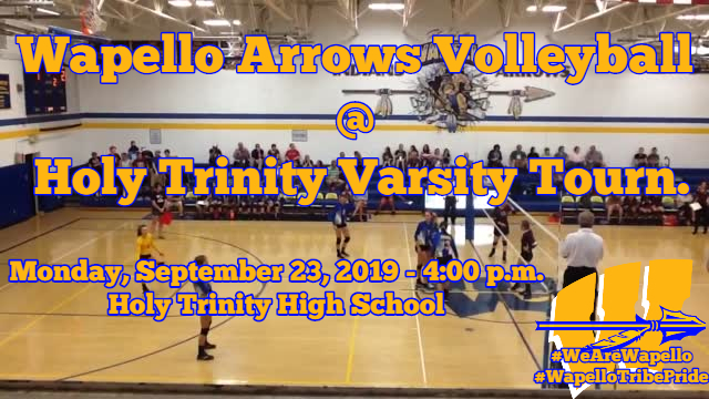 Arrows Volleyball 9-23-19