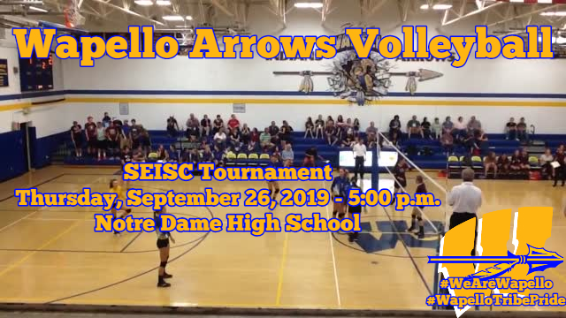 Arrows Volleyball 9-26-19