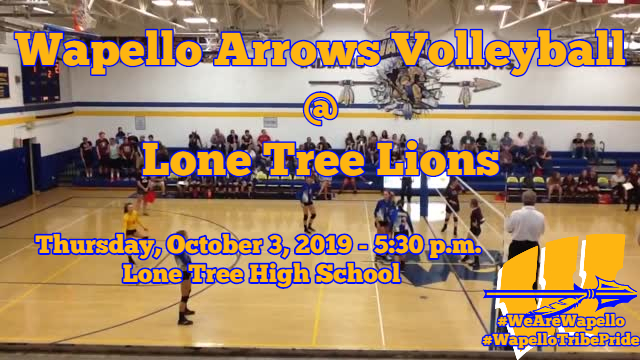 Arrows Volleyball 10-3-19