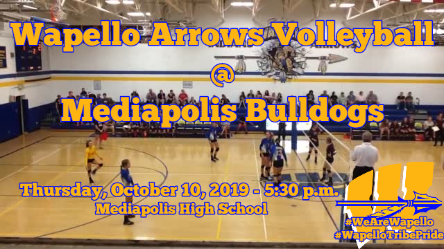Arrows Volleyball 10-10-19