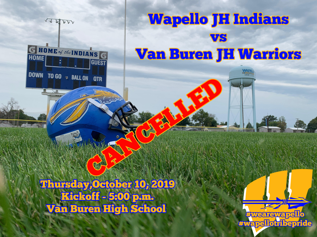 JH Football Cancelled