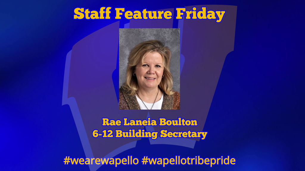 Staff Feature - Rae Boulton