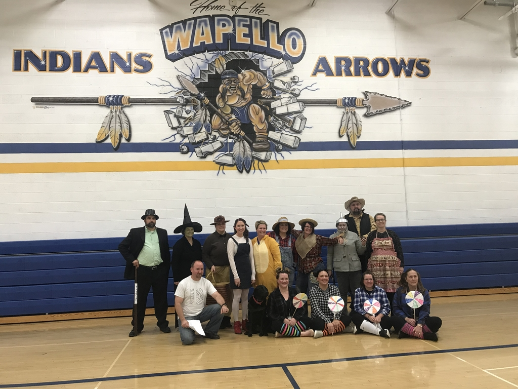 The Wizard of Wapello cast.