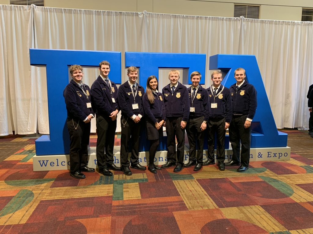 WAPELLO FFA members who competed at national ffa convention